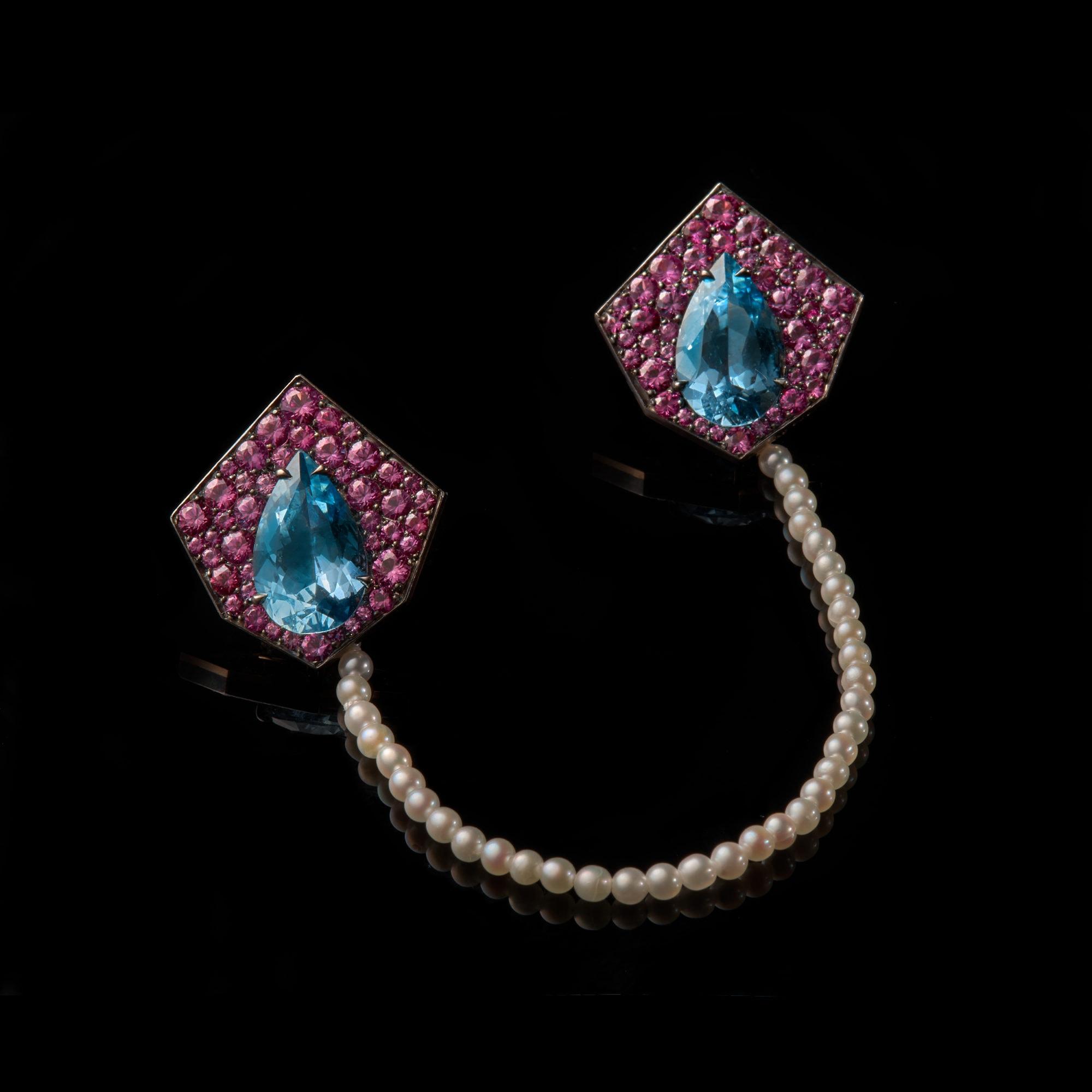 Kite Brooch Earrings