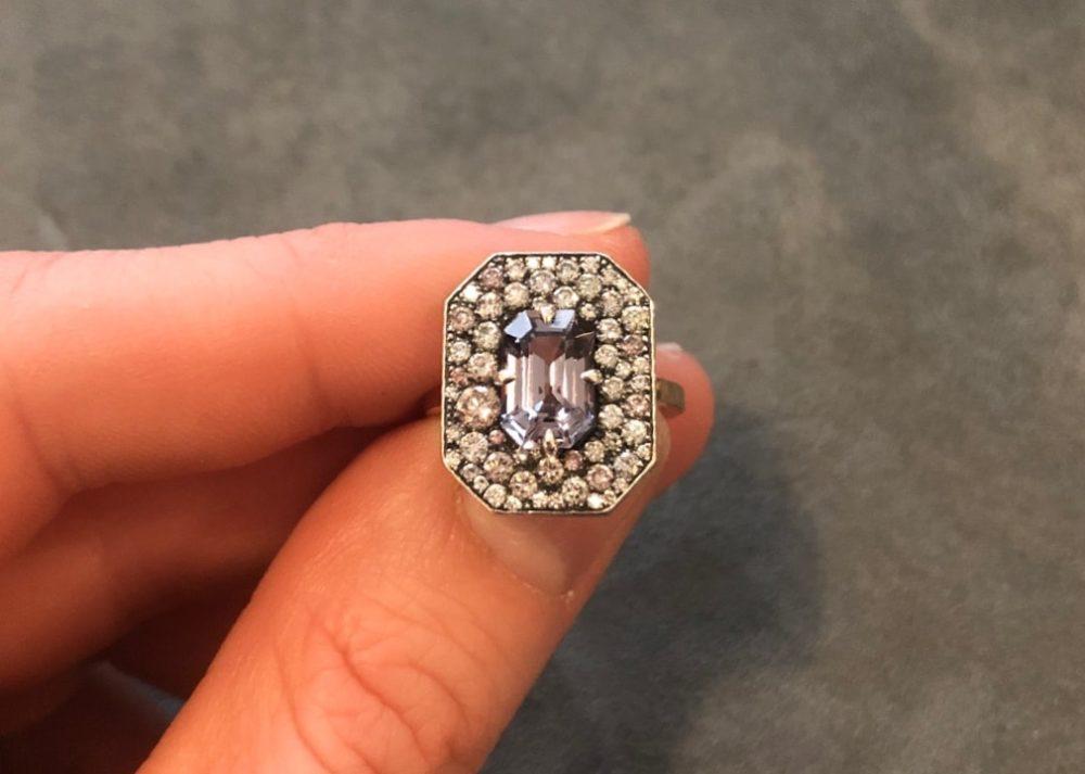 Bespoke Ring in hand